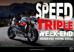 SPEED TRIPLE Week-end !